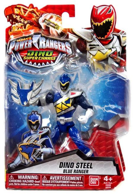 Power Rangers Dino Super Charge Dino Steel Blue Ranger Action Figure