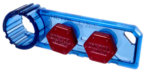 Beyblade Metal Fusion Japanese Metal Face Bolt 2-Pack BB-66 [Red]