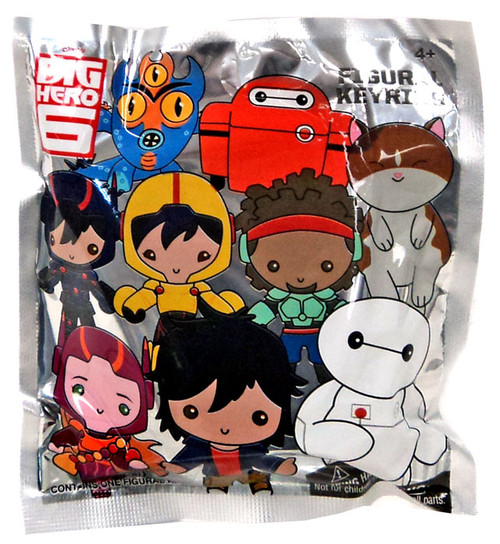Disney Big Hero 6 Mini Figure Keyring Mystery Pack