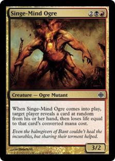 MtG Alara Reborn Common Foil Singe-Mind Ogre #45