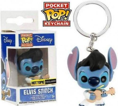 Funko Lilo & Stitch POP! Disney Elvis Stitch Keychain