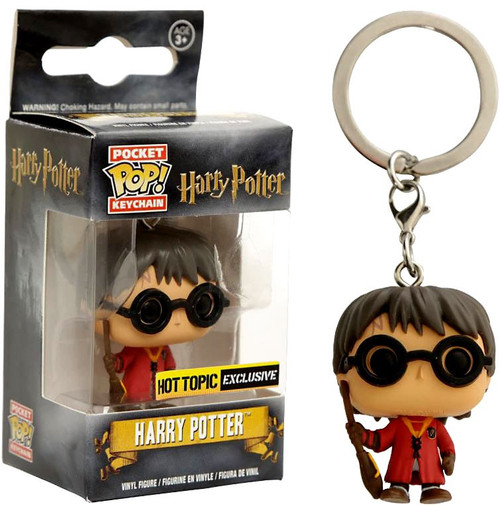 Funko Pocket POP! Movies Harry Potter Exclusive Keychain [Quidditch]