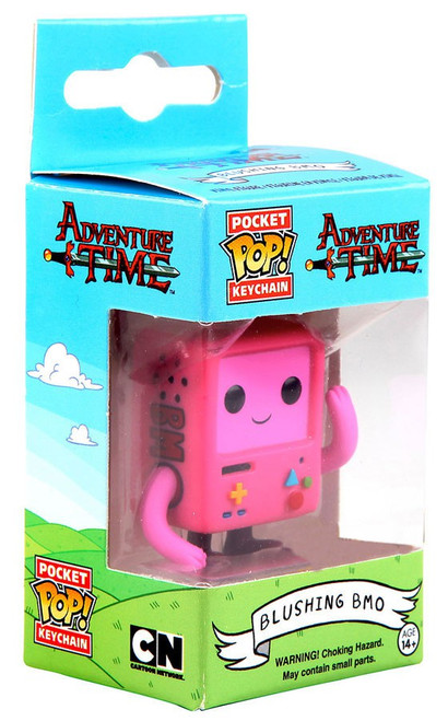 Funko Adventure Time Pocket POP! TV Blushing BMO Exclusive Keychain