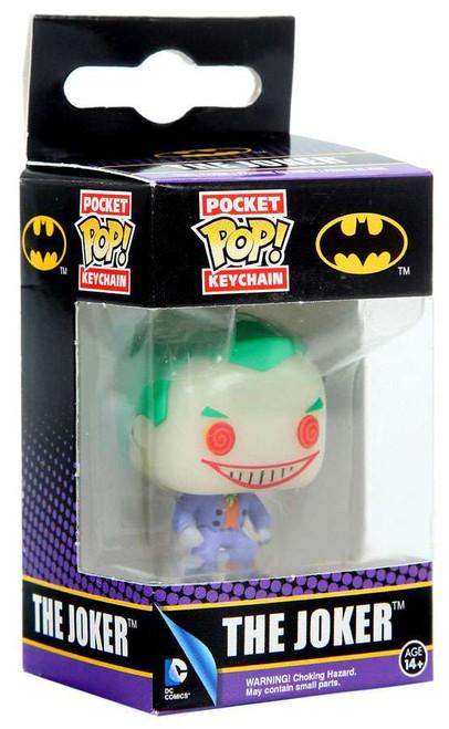 Funko DC Universe Pocket POP! Heroes The Joker Exclusive Keychain [Glow-in-the-Dark]