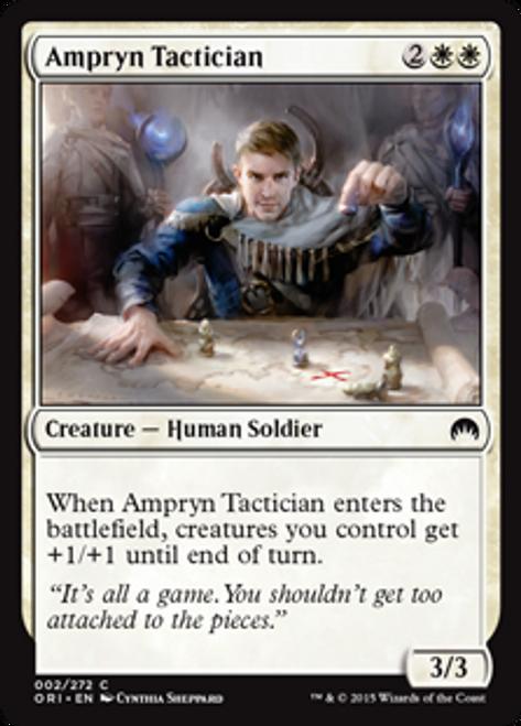 MtG Origins Common Foil Ampryn Tactician #2