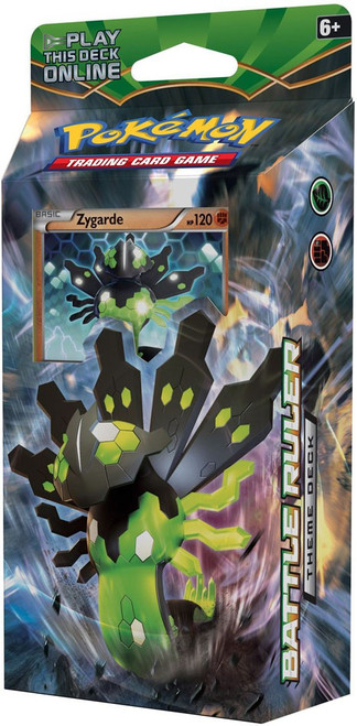 Pokemon Trading Card Game XY Fates Collide Battle Ruler Theme Deck [Zygarde]