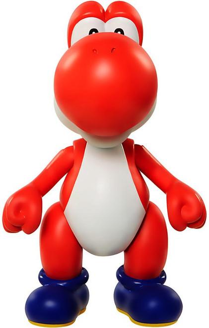 World of Nintendo Super Mario Series 6 Red Yoshi Action Figure
