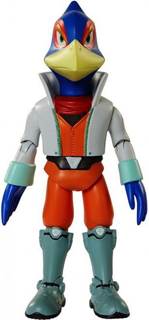 World of Nintendo Starfox Series 6 Falco Lombardi Action Figure