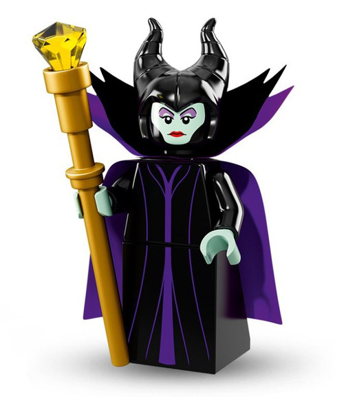 LEGO Minifigures Disney Mystery Series 1 Maleficent Minifigure [Loose]
