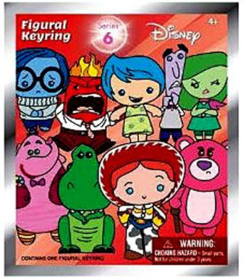 3D Figural Keyring Disney Series 6 Mystery Pack
