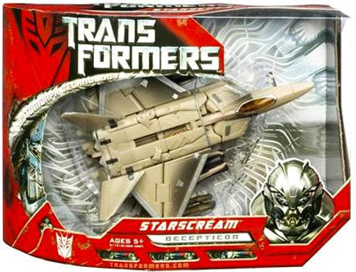 Transformers Movie Starscream Voyager Action Figure [Damaged Package]