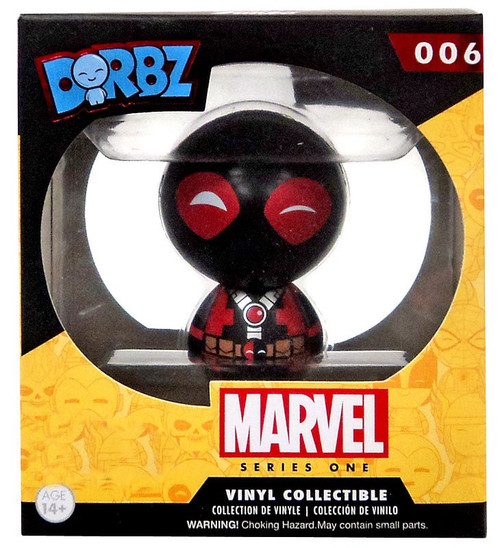 Funko Marvel Dorbz Deadpool Exclusive Vinyl Figure #06 [Black & Red]