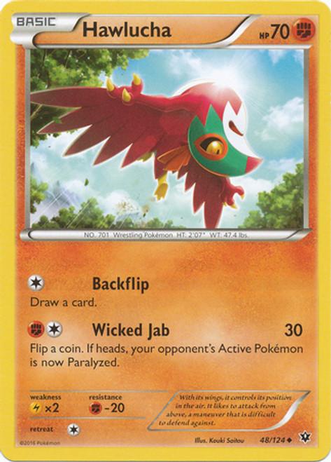 Pokemon X & Y Fates Collide Uncommon Hawlucha #48