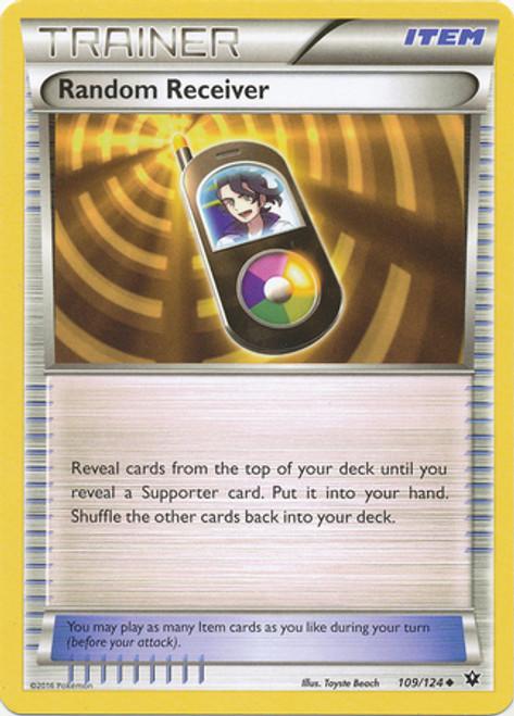 Pokemon X & Y Fates Collide Uncommon Random Receiver #109