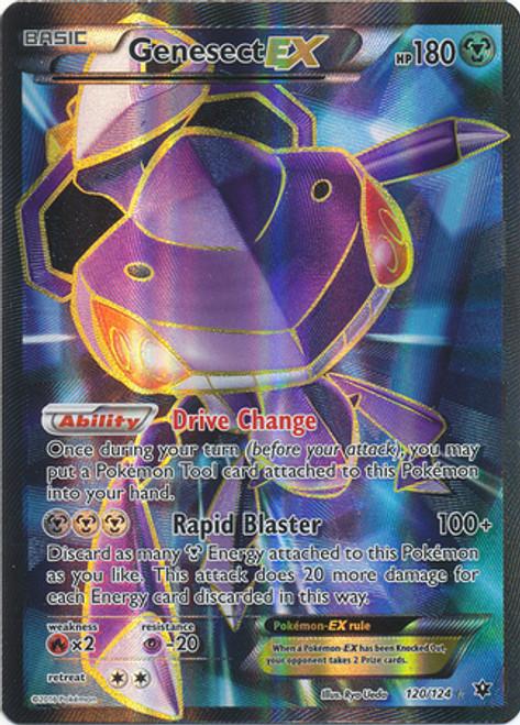 Pokemon X & Y Fates Collide Ultra Rare Full Art Genesect EX #120