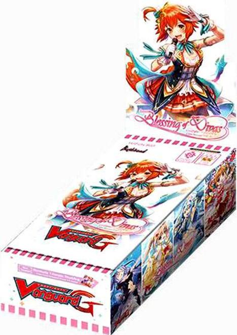 Cardfight Vanguard G Blessing of Divas Clan Booster Box VGE-G-CB03 [12 Packs]