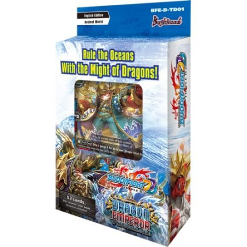 Future Card BuddyFight Trading Card Game Dragon Emperor Trial Deck