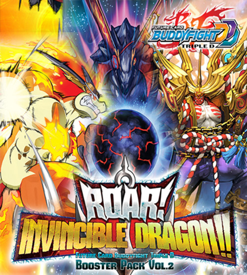 Future Card BuddyFight Trading Card Game Invincible Dragon Booster Box [30 Packs]