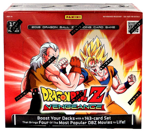 Dragon Ball Z Collectible Card Game Vengeance Booster Box [24 Packs]