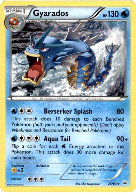 Pokemon X & Y Generations Rare Gyarados #23