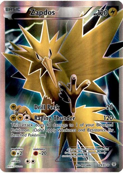Pokemon X & Y Generations Ultra Rare Zapdos #29