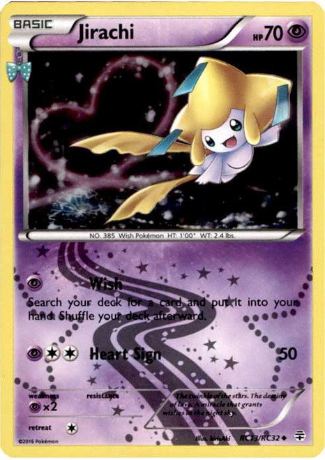 Pokemon X & Y Generations Radiant Collection Uncommon Jirachi RC13