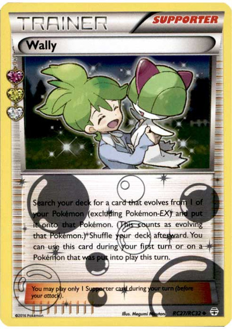 Pokemon X & Y Generations Radiant Collection Uncommon Wally RC27