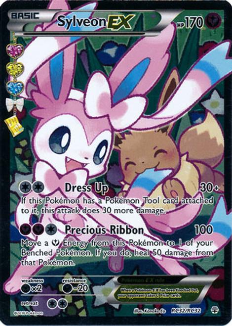 Pokemon X & Y Generations Radiant Collection Ultra Rare Sylveon EX RC32