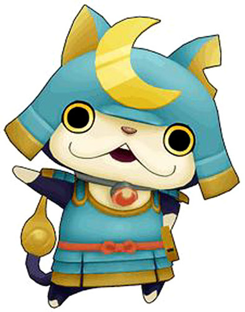 Yo-Kai Watch Medal Moments Shogunyan Mini Figure