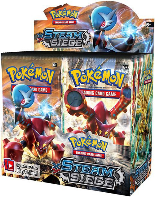 Pokemon Trading Card Game XY Steam Siege Booster Box [36 Packs]