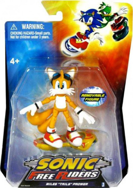 Sonic The Hedgehog Free Riders Tails Action Figure [Loose]