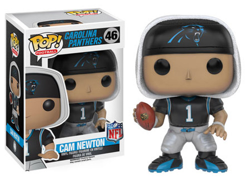 Funko NFL Carolina Panthers POP! Sports Football Cam Newton Vinyl Figure #46 [Black Jersey]
