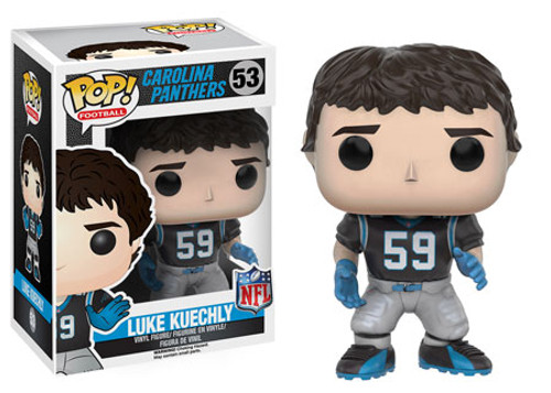 Funko NFL Carolina Panthers POP! Sports Football Luke Kuechly Vinyl Figure #53