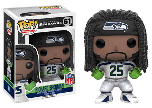 Funko NFL Seattle Seahawks POP! Sports Football Richard Sherman Vinyl Figure #61 [White Uniform]