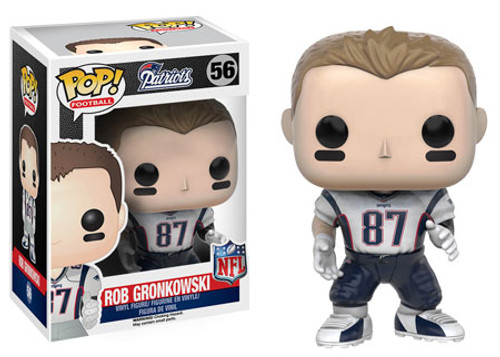 Funko NFL New England Patriots POP! Sports Football Rob Gronkowski Vinyl Figure #56 [White Jersey]