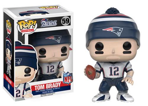 Funko NFL New England Patriots POP! Sports Football Tom Brady Vinyl Figure #59
