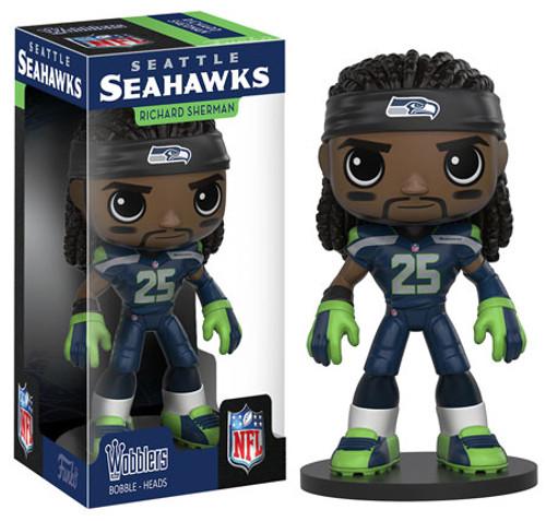 Funko Seattle Seahawks Wobbler: NFL Richard Sherman Bobble Head