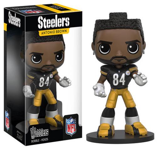 Funko Pittsburgh Steelers Wobbler: NFL Antonio Brown Bobble Head