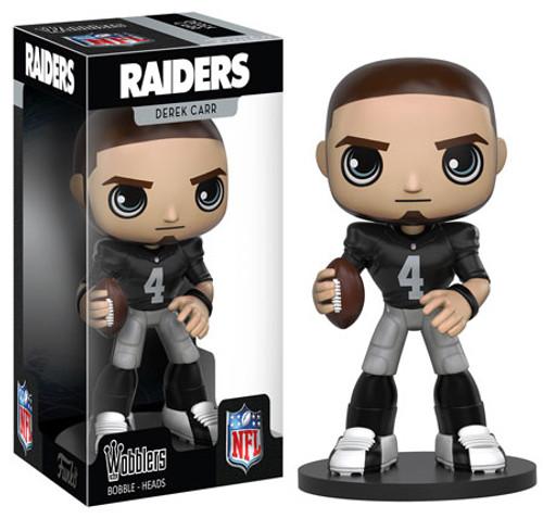 Funko Oakland Raiders Wobbler: NFL Derek Carr Bobble Head