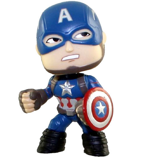 Funko Marvel Captain America: Civil War Mystery Minis Captain America 2.5-Inch 1/12 Mystery Minifigure [Loose]