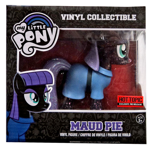 Funko My Little Pony Vinyl Collectibles Maud Pie Exclusive Vinyl Figure [Translucent Glitter Variant]