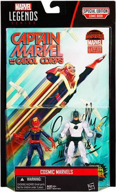 Marvel Legends Captain Marvels (Carol Danvers & Mar-Vell) Action Figure 2-Pack [Cosmic Marvels]