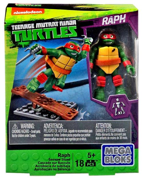 Mega Bloks Teenage Mutant Ninja Turtles Animation Raph Set #32716 [Seesaw Stunt]