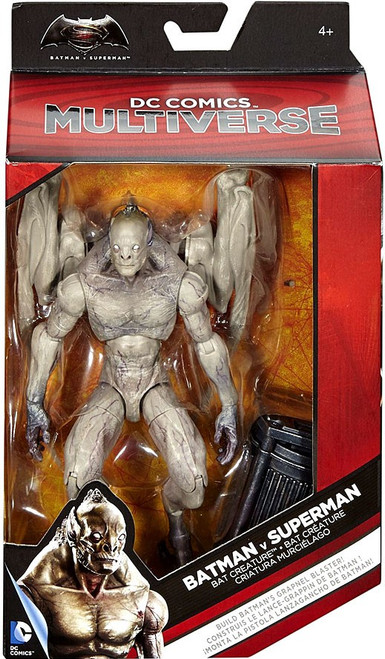 DC Batman v Superman: Dawn of Justice Multiverse Grapnel Blaster Series Bat Creature Action Figure
