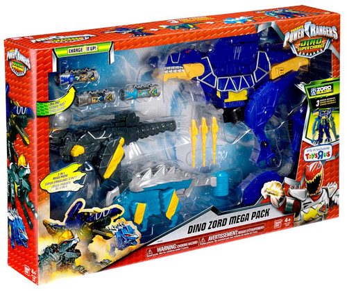 Power Rangers Dino Super Charge Dino Zord Mega Pack Exclusive Roleplay