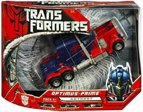 Transformers Movie Optimus Prime Voyager Action Figure [Damaged Package]