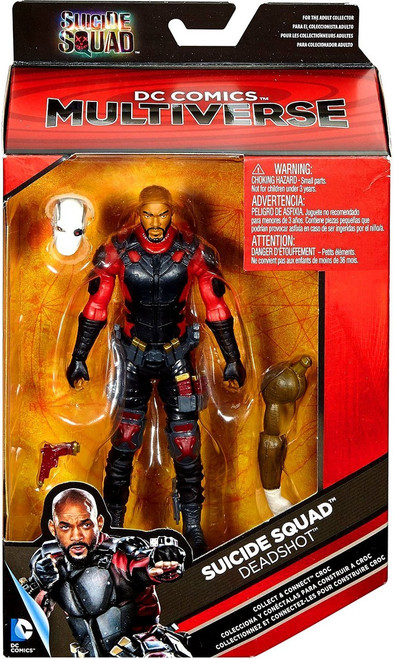 DC Suicide Squad Multiverse Croc Series Deadshot Action Figure [Will Smith]
