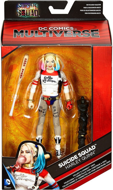 DC Suicide Squad Multiverse Croc Series Harley Quinn Action Figure [Baseball Bat]
