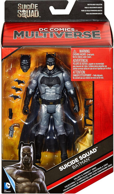 DC Suicide Squad Multiverse Croc Series Batman Action Figure