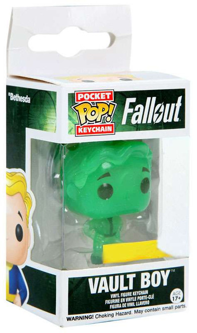 Funko Fallout Pocket POP! Games Vault Boy Exclusive Keychain [Glow-In-the-Dark]